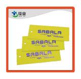 가득 차있는 Color Printing Garment Swing Tag 또는 Logo Name Design Hang Tag