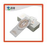 Elegante ropa de alta calidad papel tela Hang Tag