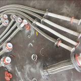 Tubo flessibile Braided del collegare durevole PTFE/Teflon dell'acciaio inossidabile