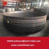 01-30 testa ellittica materiale d'acciaio laminata a caldo della parte del serbatoio del contenitore a pressione 4600mm*10mm