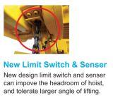 2t Tekのマスターシリーズは速度の電気チェーン起重機を選抜する