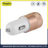 De draagbare Lader van de Auto van de Haven USB van de Reis Dubbele voor Mobiele Telefoon