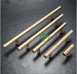 Trekt de Gouden Lade van het Kabinet van het roestvrij staal de Handvatten van de Staaf van de Keuken van het Aluminium