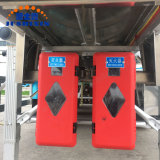 3배 차축 45cbm 알루미늄 기름 연료 저장 유조선