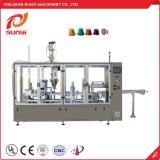 Linear de alta capacidade da cápsula de café Nespresso máquina de enchimento e selagem