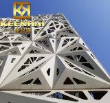 Le bâtiment commercial de l'aluminium mur rideau façade découpé au laser (KH-CW5202)