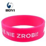 Il multi colore promozionale ha mescolato i Wristbands del silicone della stampa di marchio di turbinio del camuffamento
