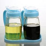 Salsa di vetro dell'olio, bottiglia dell'all'aceto