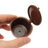 Cápsula de café com 1 colher de plástico PC cápsula de café recarregáveis compatíveis reutilizáveis