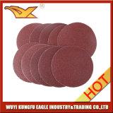 Disco di smeriglitatura del Velcro dell'ossido dell'allumina da 5 pollici con migliore qualità