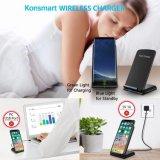 Nuevo 10W Chargering Fast Pad estándar magnético Qi Wireless Cargador para iPhone para Samsung