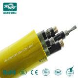 Cavo elettrico inguainato PVC isolato PVC di alluminio del conduttore