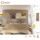 Armadio da cucina moderno della mobilia della casa del compensato della melammina/della carcassa pannello truciolare