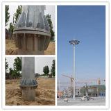 Hot-DIP Galvanisation des Fabrik-Telekommunikations-Monopole Stahlaufsatzes