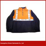 Jupe fonctionnante bleue orange d'ouatine de sûreté avec la bande r3fléchissante pour l'hiver (W62)