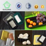 食糧のための中国の製造者の生物分解性の包装の黒いプラスチック皿