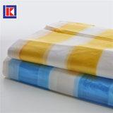 HDPE 색깔 황색은 재생한 t-셔츠 쇼핑 백을 분리했다