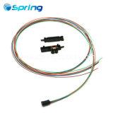 12-контактный плоский кабель Оптоволоконные комплекты из вентилятора с 12 ПК 0.9mm трубы 36''