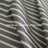Fil noir 100 % polyester Tissu à armure sergé chevron