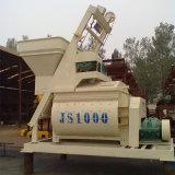 Populares de la máquina de concreto Js1000 Ready Mix hormigonera