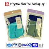 Hohe Klarheits-mit Reißverschlussunterwäsche kleidet Hemd-Kleidungs-Plastikverpackungs-Beutel