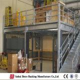 Aménagement en acier de mezzanine de mémoire d'entrepôt en métal d'entrepôt de l'Allemagne