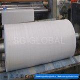 tissu enduit blanc de chemise de 85GSM pp en vente