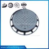 Крышки люка -лаза круглого чугуна Lockable для дренажа подъездной дороги