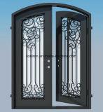 Porta dobro feita sob encomenda bonita de ferro feito com vidro Tempered