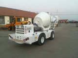 Misturador concreto autoflutuante móvel Diesel