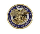 주문 로고를 가진 돋을새김된 3D 동전은, 주문을 받아서 만들어진 디자인 받아들여진다