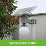 Solargreen im Freien straßen-Garten-Licht der Bewegungs-6-12W des Fühler-LED Solar