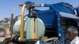 película soplada del abrigo del ensilaje del color verde del Celadon 750mm*1500m*25um para la prensa de alta velocidad