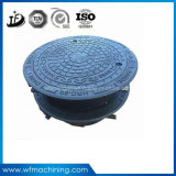 Для тяжелого режима работы для изготовителей оборудования за круглым столом ковкое железо крышка люка с рамой