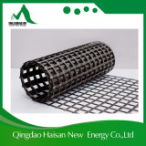 Basalto basso Geogrid di allungamento con asfalto, il polimero o il rivestimento del PVC