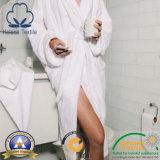Bathrobe do hotel do algodão com Terry para dentro para homens/mulheres