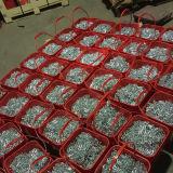 Catena a maglia media placcata zinco DIN764/catena a maglia saldata/catena d'acciaio