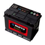 DIN batterie chargée de l'automobile à sec de la batterie La batterie du chariot de stockage DIN66