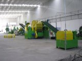 Venta bien en el neumático de Suramérica y de la India que recicla la máquina