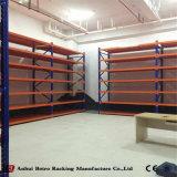 Les systèmes de stockage longue étendue de l'acier Warehouse étagères avec pont en acier
