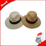 Chapéu de palha da forma de Pamnama Chapéu da promoção do sol