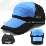 Bordado de apliques de PVC esponja de malla de ocio sombrero de camionero (TMT0723)