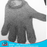 La seguridad del metal Anti-Cortó el dedo de los guantes 5