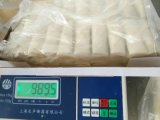Ressort oblong fabriqué à la main Rolls du légume 25g/Piece Cylinderical de 100% congelé par IQF