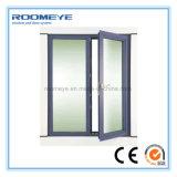 Roomeye는 이중 유리를 끼우기를 가진 분말에 의하여 입힌 알루미늄 여닫이 창 Windows를 주문을 받아서 만들었다