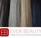 卸し売りインドのRemyの人間の毛髪Vの先端の毛の拡張