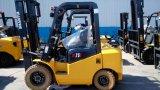 容器はクッションのタイヤの二重燃料3のトンLPGのフォークリフトの荷を下す