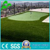 Alfombra artificial sintetizada del rodillo de la hierba de la altura del campo de fútbol 10-70m m