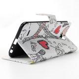 LG LV3/LV5/LV7/LV9를 위한 지갑 가죽 손가락으로 튀김 덮개 케이스