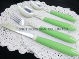 Het hete Vaatwerk Faltware van het Bestek van het Handvat van de Verkoop Plastic Vastgestelde